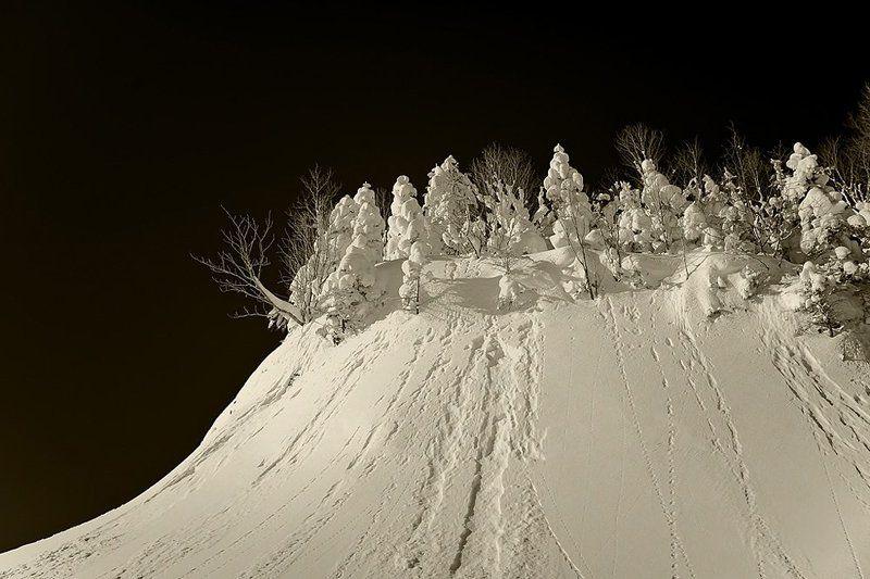 пейзаж зимний сонphoto preview