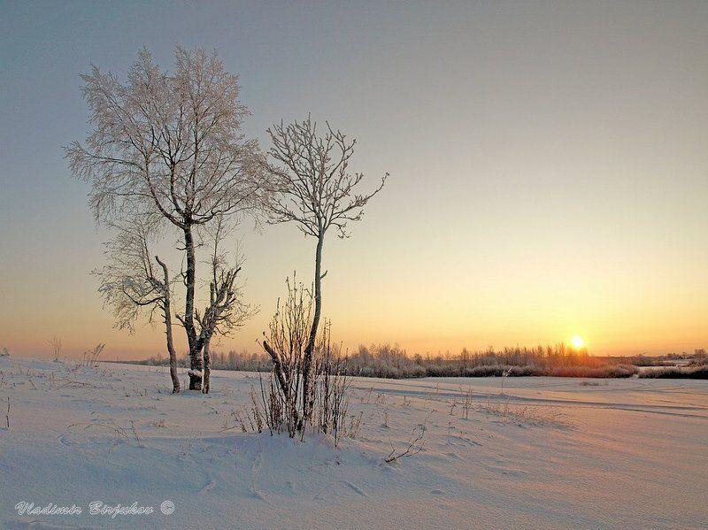 Морозный закатphoto preview
