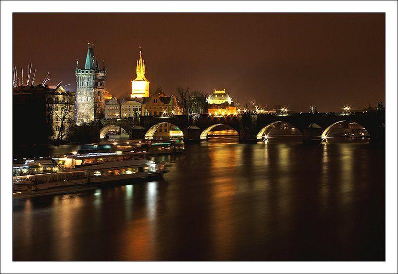 карлов, мост Пражская открыткаphoto preview
