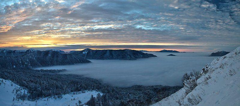 Зима на Кавказе...photo preview
