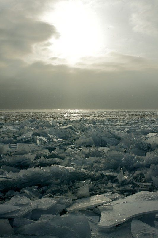 байкал, лед Ледяное солнцеphoto preview