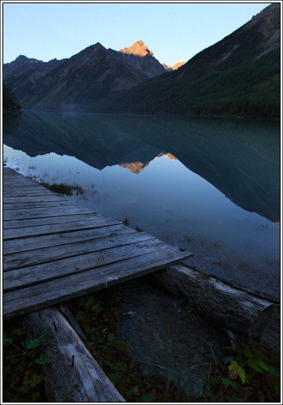 алтай, горы, озеро Утро на Кучерлинском озереphoto preview