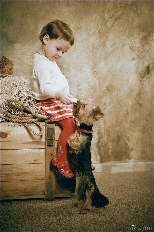 Дама с собачкой.photo preview