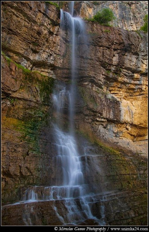 Bovska Skaklya waterfallphoto preview