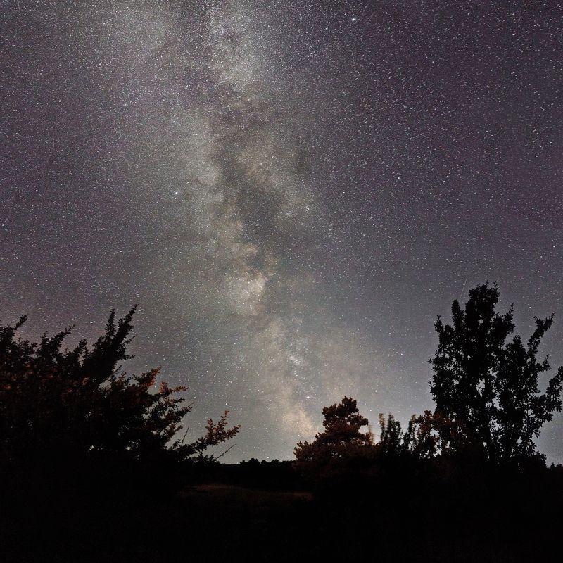 звезды млечный путь Ай-Петри.photo preview