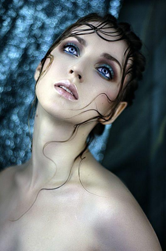 портрет, русалка, боке, макияж, фото Русалочкаphoto preview