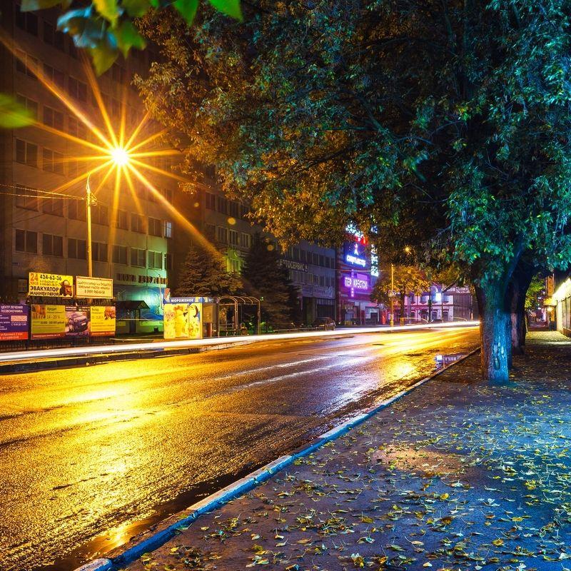 город, ночь, орехово-зуево photo preview