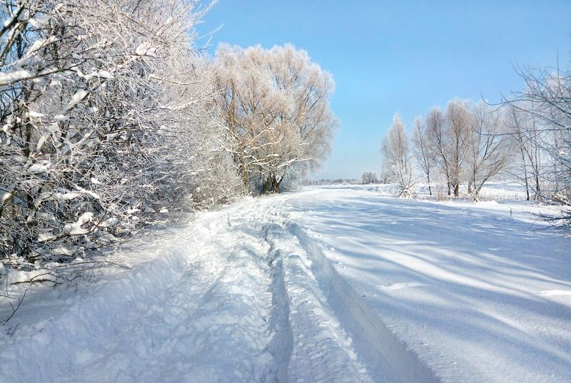 Дорога в зимнюю сказку...photo preview