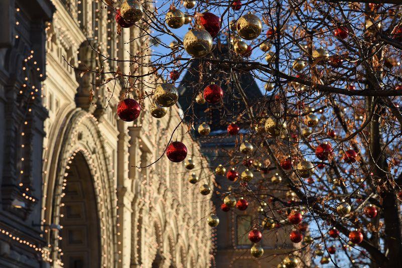 Россия, Москва, ГУМ, Новый год в Москве ГУМ новогоднийphoto preview