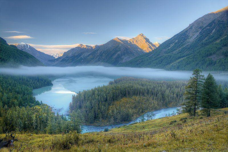 озеро кучерлинское, горный алтай Время мечтатьphoto preview