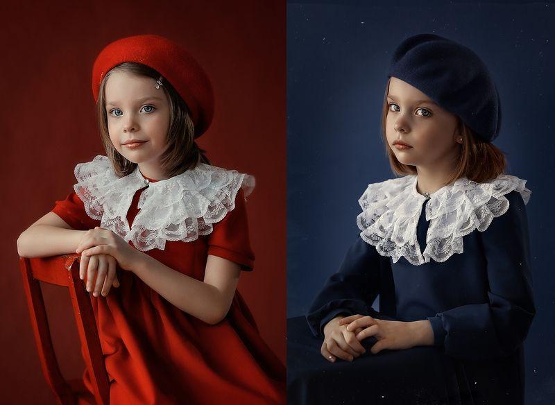 Красное и синееphoto preview