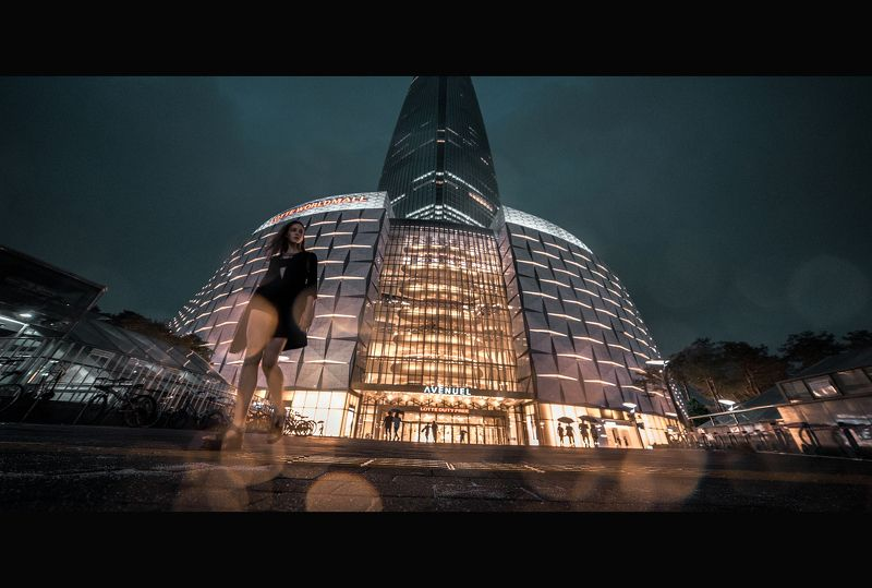 neon, fashion, roof, неон, фэшн, мода, крыша, геометрия, корея, сеул, стрит, уличный, стиль Dominatorphoto preview