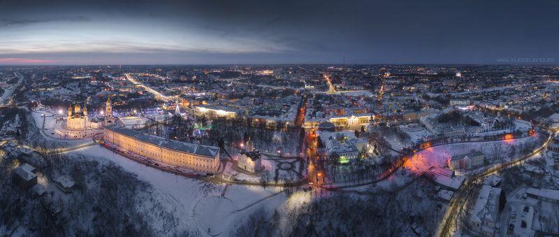 Огни вечернего города photo preview
