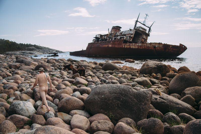 остров, корабль Дорога до баниphoto preview