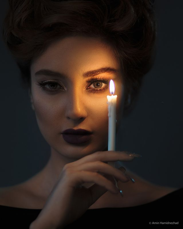 #portraits # aminhamidnezhad# photoshoot# portraits #  Candle photo preview