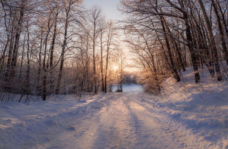 снег, зима, нижний новгород, солнце Теплеетphoto preview
