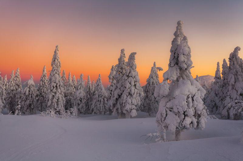 таганай, рассвет, зима, златоуст, урал,  t_berg Немного об эротике в пейзажной фотографииphoto preview