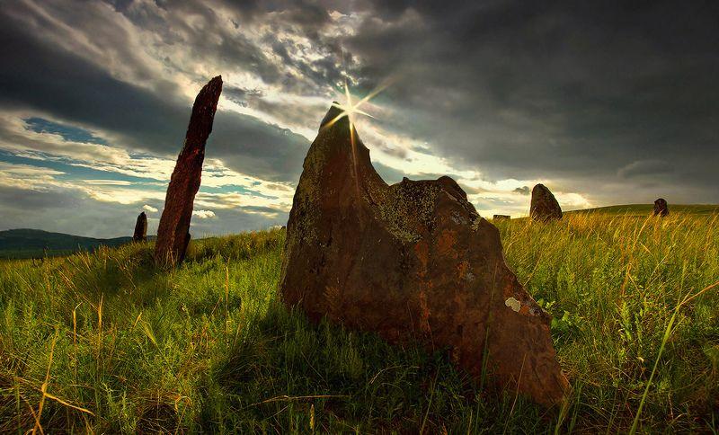 хакасия, менгиры, древность, степь Из глубины веков (Хакасия)photo preview