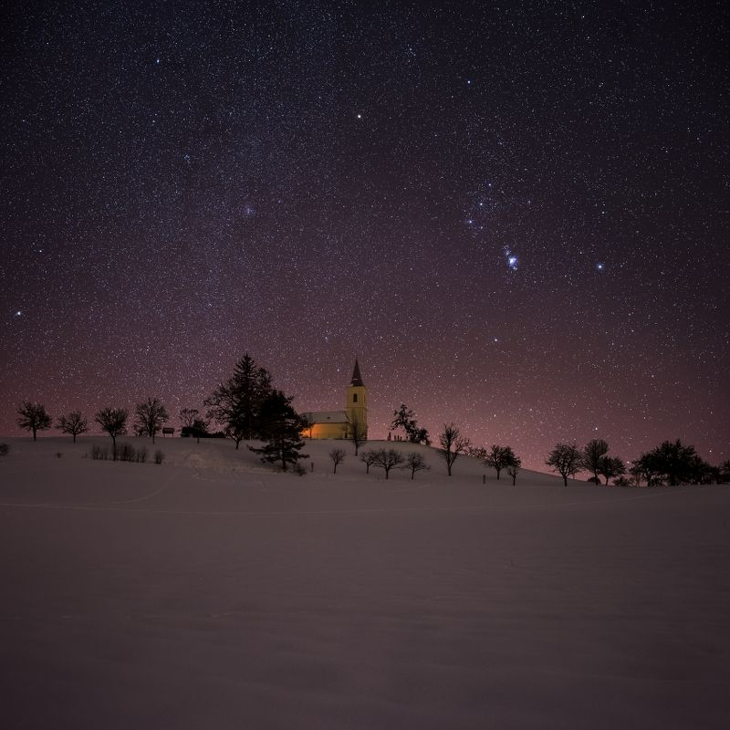 church, stars, orion, galaxy, night, nightscape, Take me to church..photo preview