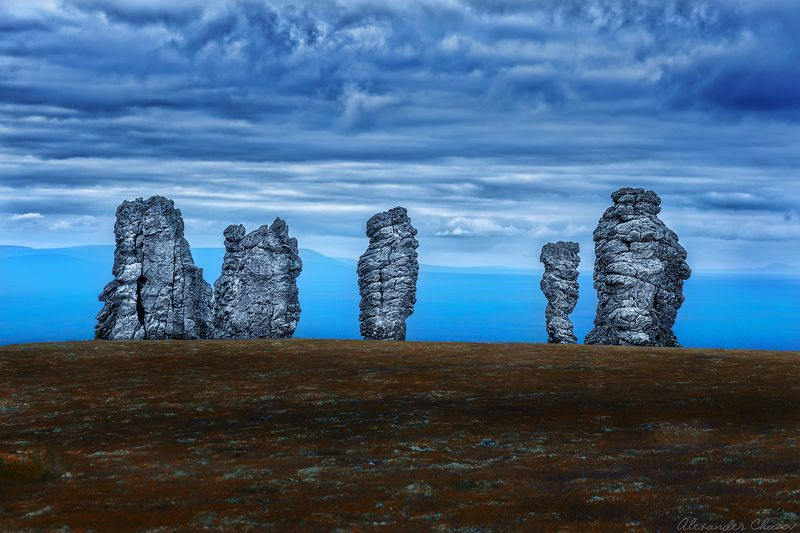 урал, маньпупунер, останцы, идолы Молчание каменных идоловphoto preview