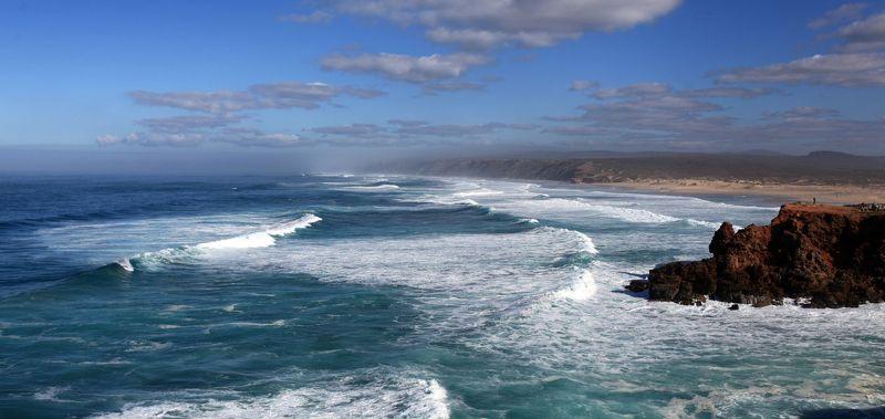 португалия Зимний пляж.photo preview