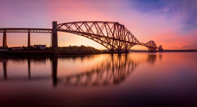 шотландия, мост, scotland Forth Bridgephoto preview