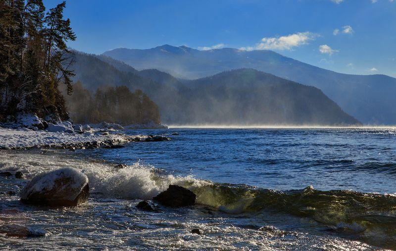 телецкое озеро, алтай яйлю Духи Телецкого озера.photo preview