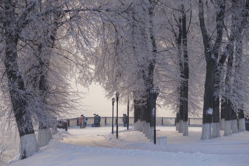 Красоты зимнего городаphoto preview