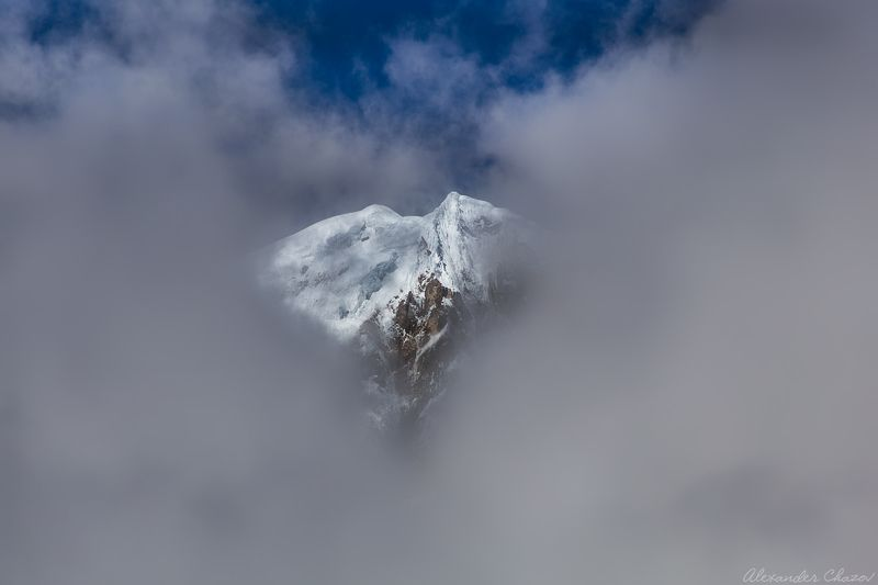 аннапурна, гималаи, горы, вершина, облака Сердце Аннапурныphoto preview
