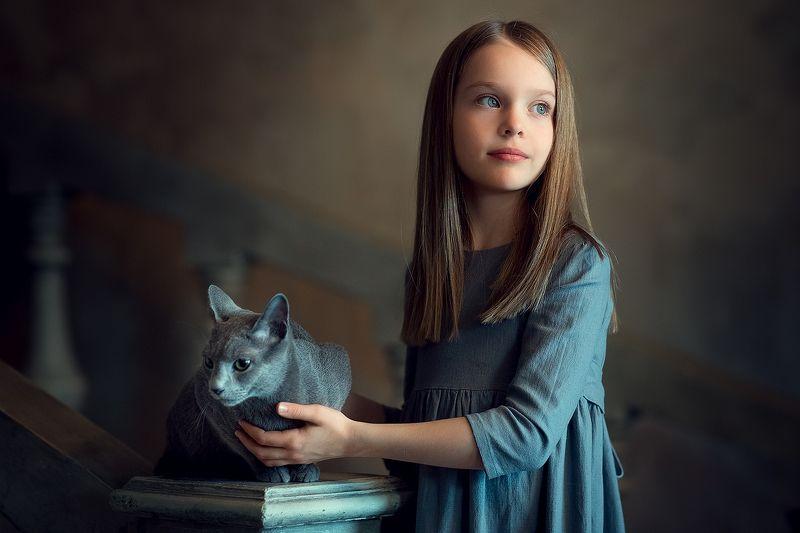 Алиса и Пушокphoto preview