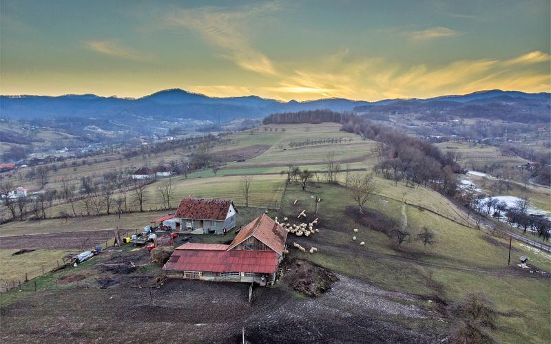 sunset,colors,hdr,drone,nature,romania, Last sunsetphoto preview