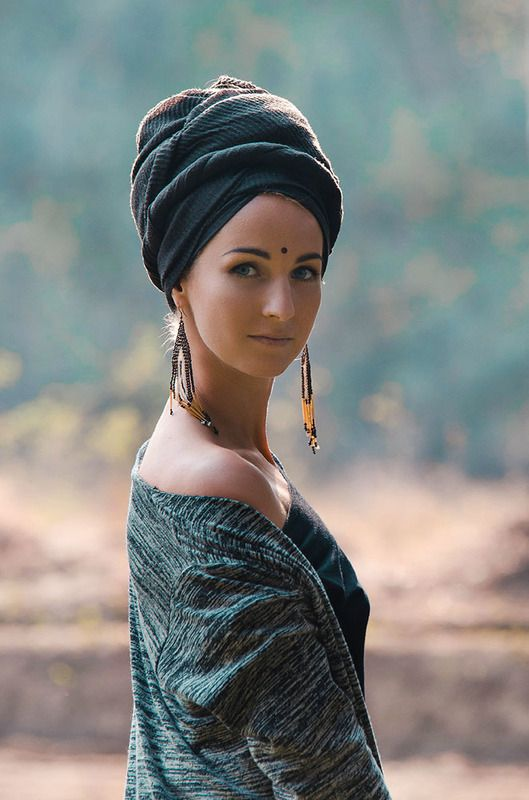 девушка, портрет, индия Девушка в тюрбанеphoto preview