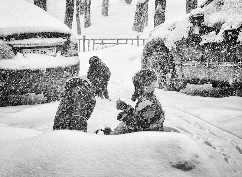 Зимняя мозаикаphoto preview