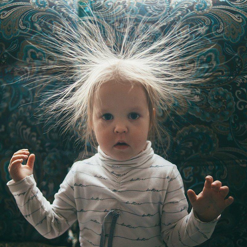 дети, смех, волосы, прическа, ребенок, photo preview