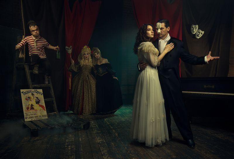 the phntom of the opera, nikon, art, fine art, photo, photographer, photography, photoshoot, elinchrom, profoto, digital, fashion, moscow, The Phantom of the Operaphoto preview