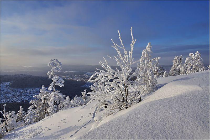 Зима снежком укутала...photo preview