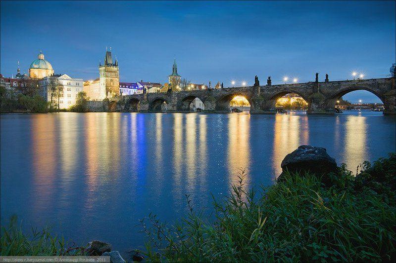 прага,осень,октябрь,пейзаж,вечер Прага открыточная.Серия втораяphoto preview