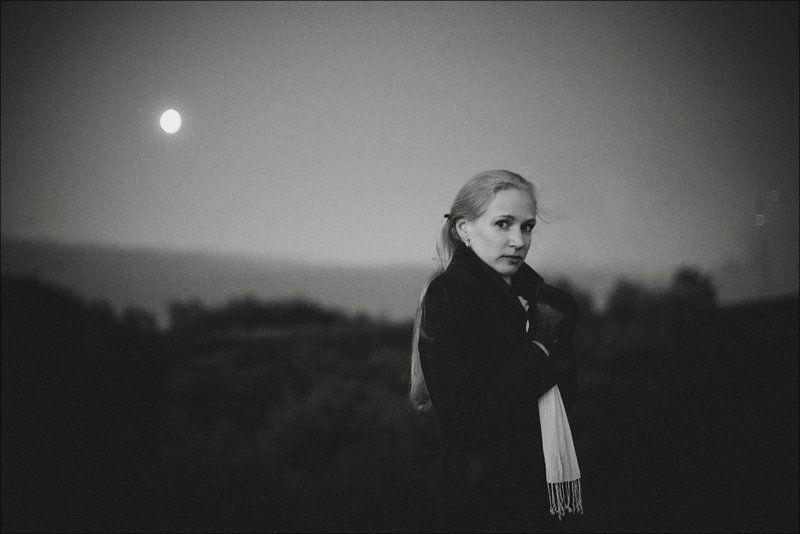 мурманск,лето,август,жанровый портрет портрет при лунном свете.photo preview