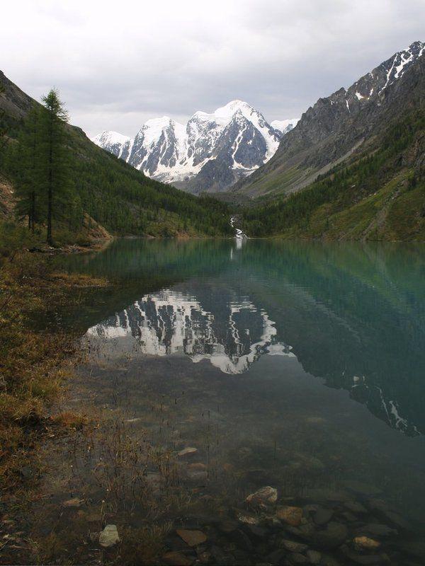горный, алтай, нижнее, шавлинское, озеро, вечер, август Вечер на Нижнешавлинском озереphoto preview