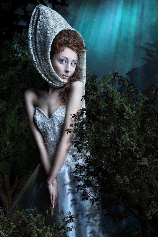 сказка, девушка, ночь, путилов, putilov Ночная невестаphoto preview