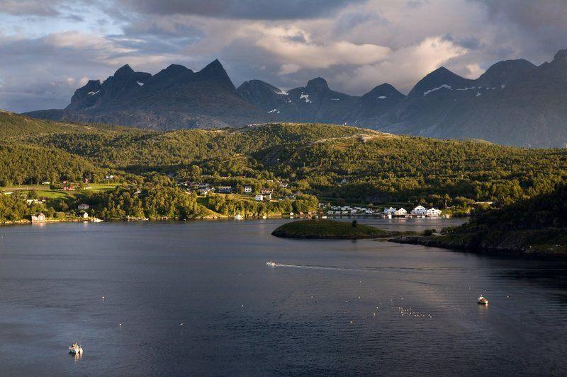 norway, saltstraumen Норвежская палитраphoto preview