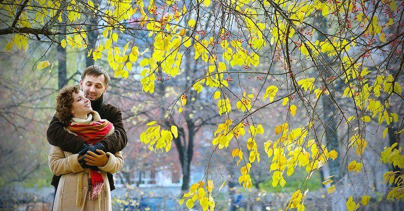 Осень на двоихphoto preview