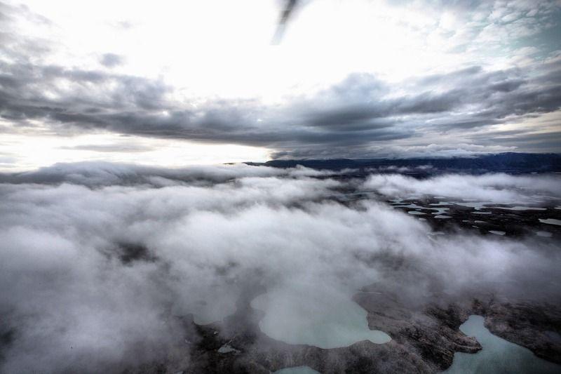 полуостров таймыр, вертолёт, шварц ЗА ОБЛАКАМИ...photo preview