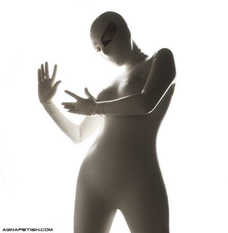 фетиш, латекс, резина, белый, белая, агна деви, фетиш модель Eva?photo preview