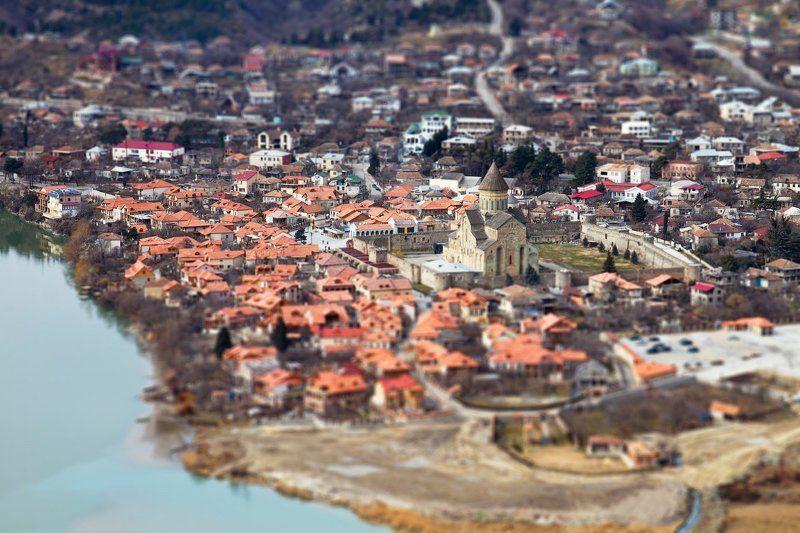 грузия, тилт, шифт Мцхетаphoto preview