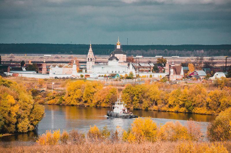 природа, пейзаж, архитектура, река, осень Коломнаphoto preview