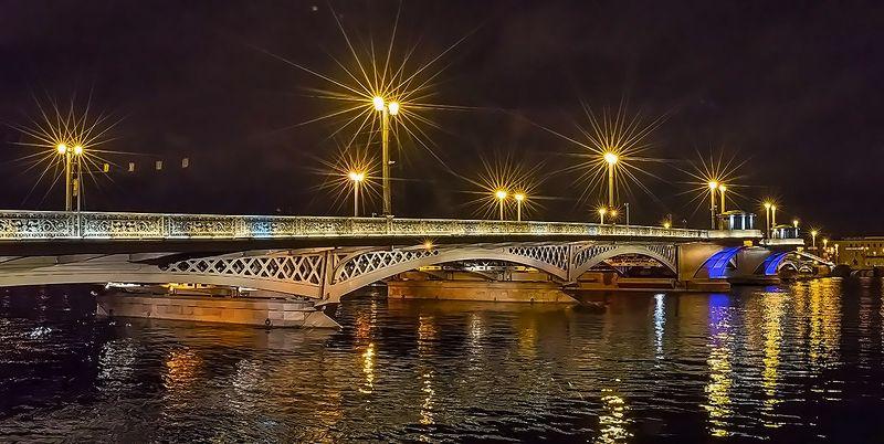 благовещенский мост питер фонари Благовещенский мост.photo preview
