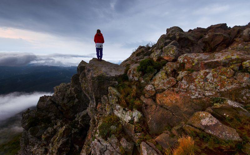 Индюшка, горы, облака Созерцательнаяphoto preview