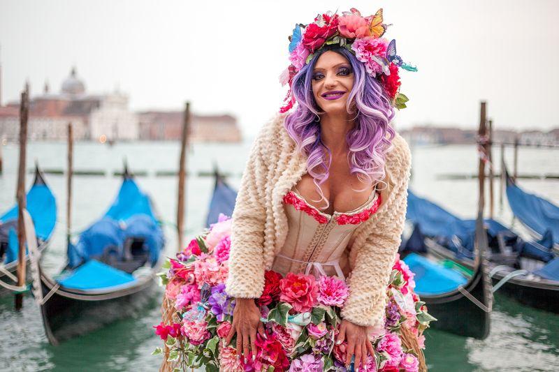italy, venice, portrait, carnival photo preview
