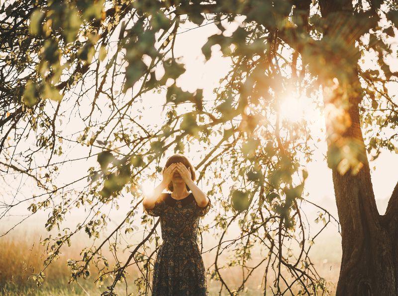 девушка, портрет, пейзаж, солнце, lightroom, canon 6D, осень, лето JULIAphoto preview